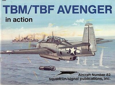 TBM/TBF Avenger in action SQUADRON/SIGNAL Aircraft Nr. 82