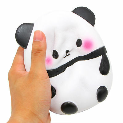 Kawaii Jumbo Panda Squishy Soft Doll Collectibles Cartoon Slow Rising US Seller