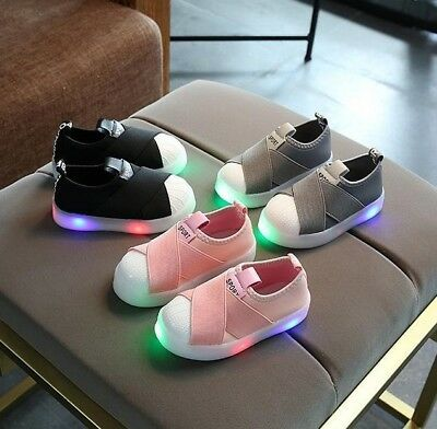 Unisex Light Up LED Shoes For Baby Toddler And Kids Athletics Sneakers Boys Girl