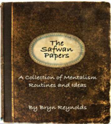 """The Safwan Papers"" rare mentalism effects by Bryn Reynolds $30 retail READ!"