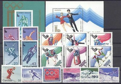 Olympiade, Olympic Games - LOT ** MNH 1980