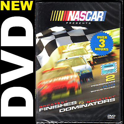 NASCAR (1, 5, 10 DVD Lots) Greatest Finishes and Greatest Dominators