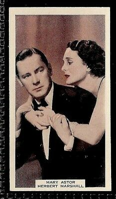 Wix (A&M)-Film Favourites (3Rd Series)-#073- Mary Astor & Herbert Marshall