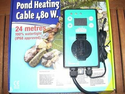 Pond Heating Cable Heating Cable Pond Heating 480 Watts Set