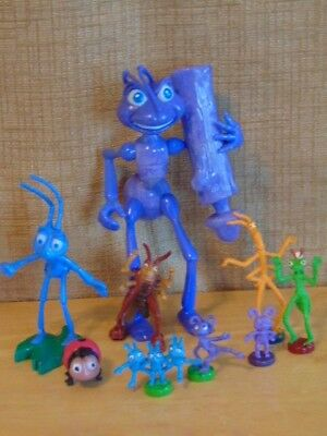 Polly Pocket ? Mini Disney Figures Bugs Life Dot Flick ant Hopper ladybug purple