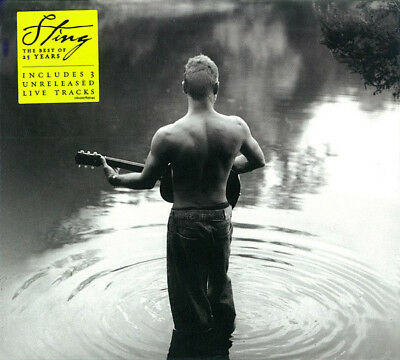 Sting – The Best Of 25 Years CD Inc 3 Live Tracks A&M Records 2011 NEW/SEALED