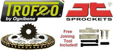 Trofeo & JT Chain And Sprocket Kit + Tool Suzuki GSF1250N/S K7-L5 Inc ABS 07-15