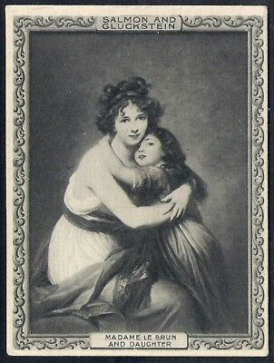 Salmon & Gluckstein-Famous Pictures (Green)- Madame Le Brun & Daughter