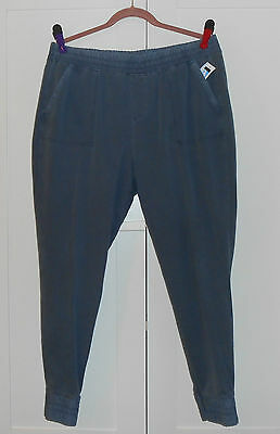 Women's  Old Navy Washed Blue French Terry Lounge Pants - Size Large