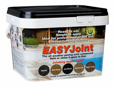 PAVING GROUT | Jet Black | Jointing compound 12.5 Kg EASY Joint Paving Mortar