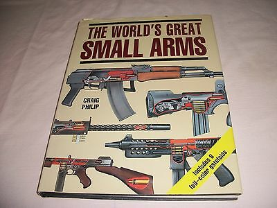 The Worlds Great Small Arms Hardcover Book Craig Philip 178 Pages