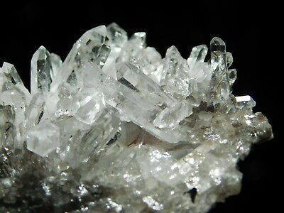 A Small Super Nice! Translucent AAA Quartz Crystal Cluster From Brazil 49.9gr