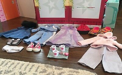 Huge Lot Of Authentic American Girl Doll Clothes And Accessories