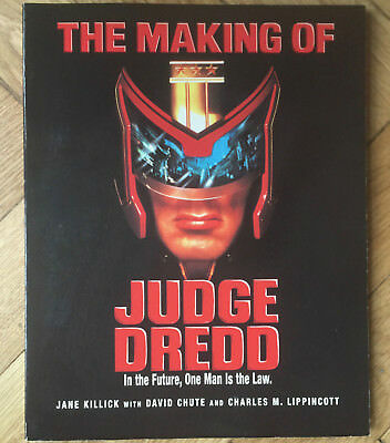 The Making Of Judge Dredd The Movie Book 1995 In Good Condition