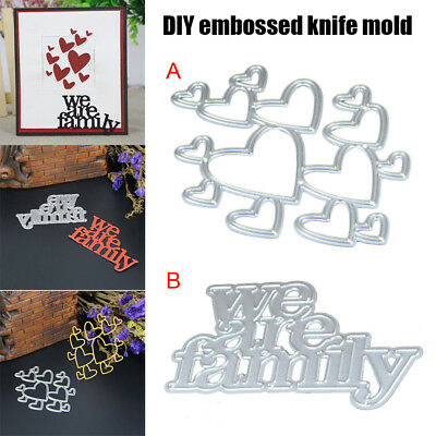 Metal Dies Cutting Stencil For DIY Scrapbooking Album Embossing Paper Card Decor