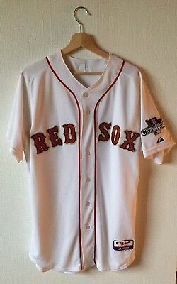 Majestic Authentic Collection - Boston Red Sox Trikot - Dustin Pedroia - Gr. 44