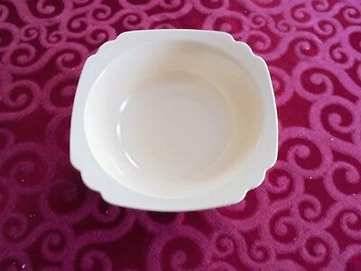 Homer Laughlin Ivory Riviera  Vegetable Bowl Ivory size 8 inch by 2 3/4