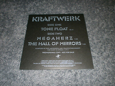 "KRAFTWERK Tone Float 12"" Maxi Vinyl -- Unique Cover Design !!"
