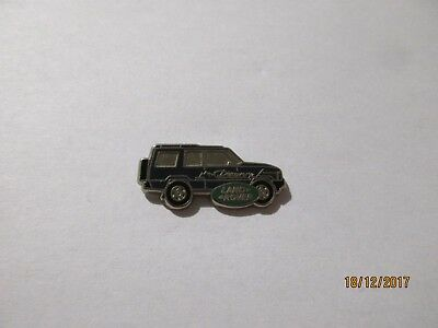 04-03 - blue LAND ROVER DISCOVERY pin - car badge - pinback - tie tack - pins