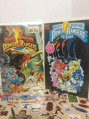 Mighty Morphin Power Rangers - 2 Book Lot