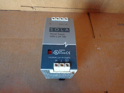 Sola SDN-5-24-100 Power Supply 24VDC