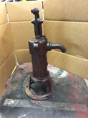 Antique Deming Cast Iron Hand Well Pump Beautiful Color Original Finish L@@k