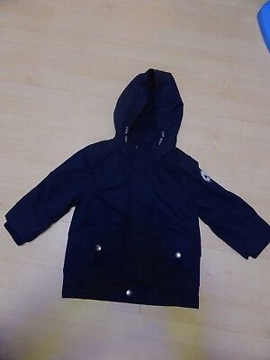 F&F Boys 18-24 Months Navy blue warm lined jacket
