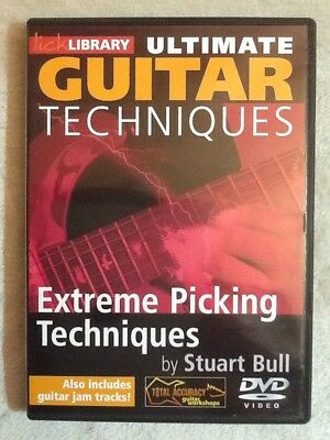 Lick Library: Ultimate Guitar Techniques - Extreme Picking - DVD (Region 0)