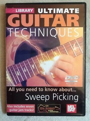 Lick Library: Ultimate Guitar Techniques - Sweep Picking DVD (Region 0)