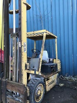 lansing diesel forklift truck needs attention