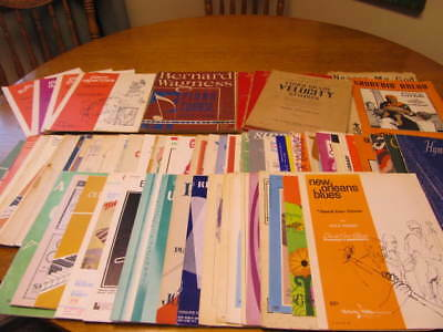 Vintage Lot Of 70 Plus Pieces Of Sheet Music, Books And More - All Used