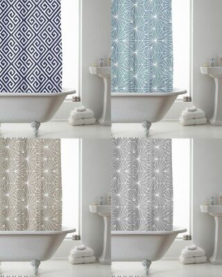 Quality Peva Shower Curtain With decorative rings 180 x 180 cm
