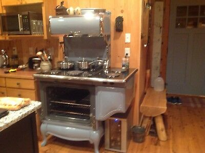 Very unique antique reproduction electric stove by Elmira Stove Works.