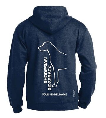 Rhodesian Ridgeback Dog Breed Hoodie, Pullover style, Exclusive Dogeria Design