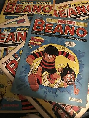 Beano Comics From The 1980s - FREE POSTAGE - UK Mainland. Buy 4 and get 5th foc!