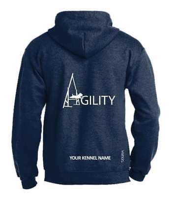 Agility Dog Activity Hoodie, Pullover style, Exclusive Dogeria Design