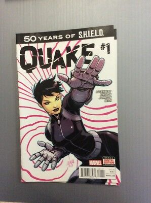 QUAKE #1 Agents Of Shield Daisy Johnson One Shot Free Shipping BUY IT NOW COMICS