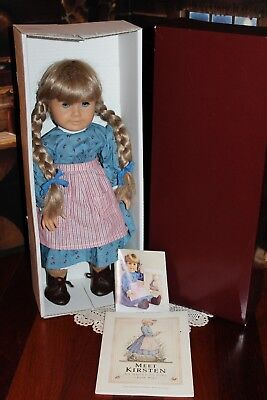 Beautiful American Girl Doll Kirsten, White Body, West Germany! VGC!