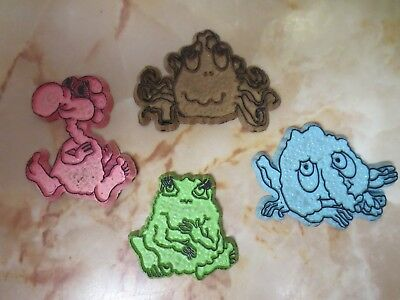 Lot Of 4 Vintage 1970S Freakies Cereal Magnet Ralston Puring