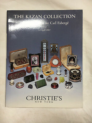 Kazan collection Carl Faberge Christies auction house New York 15 April 1997