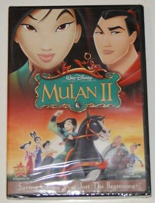 Disney Mulan II (DVD, 2005) - BRAND NEW *No Slip Cover*