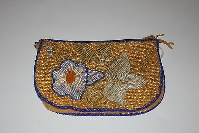 NATIVE AMERICAN Beaded Pouch/Coin Purse
