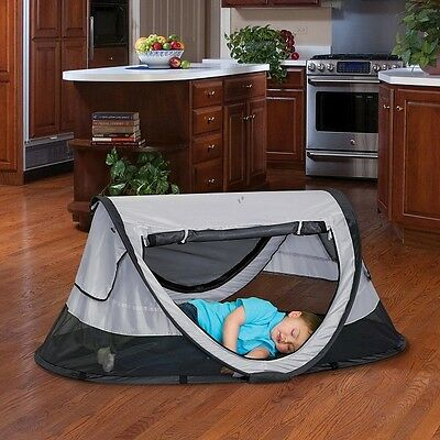 Kids Travel Bed Infant Popup Beds Portable Play Pen Carry Bag Toddler Baby KidCo