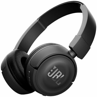 JBL Wireless On-ear Headphones Black T450BT