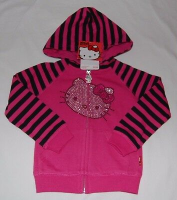 Hello Kitty  Front Zip Hoodie   Size  2T