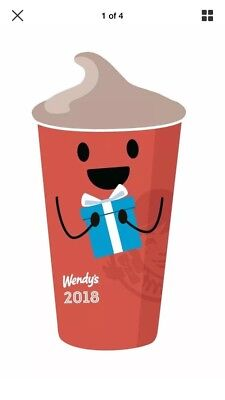 2018 Wendy's Frosty Keytag *FREE FROSTY WITH EVERY PURCHASE*