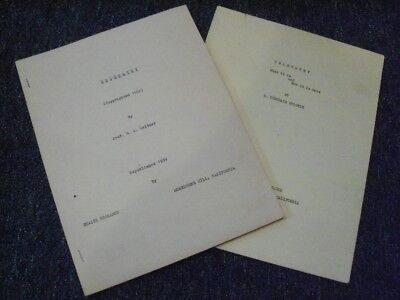 Lot of Two Rare Books on Telepathy: R. Dimsdale Stocker & Prof. S. A. Weltmer