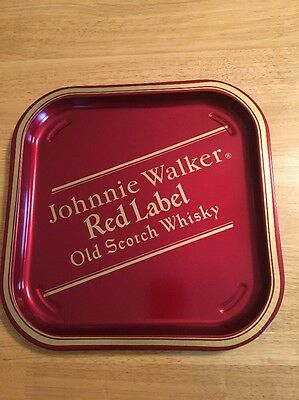 Johnnie Walker Red Label Old Scotch Whiskey Serving Tray