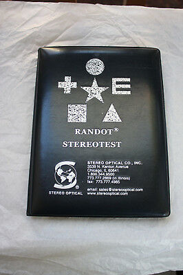 Randot Stereotest pre-owned good-fair condition A0110