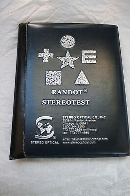 Randot Stereotest pre-owned fair condition A0111